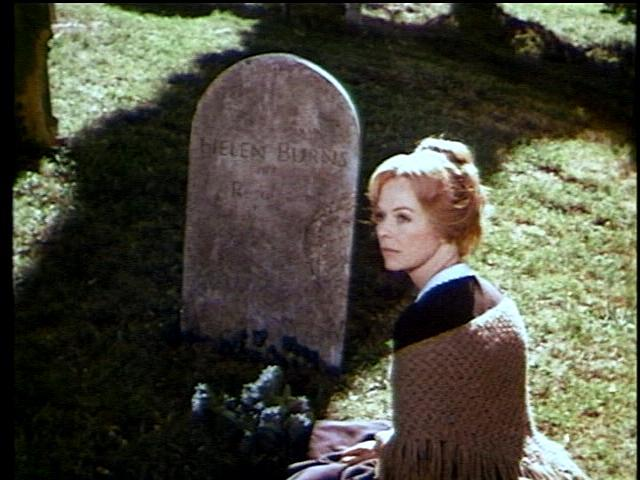 """""""Джейн Эйр"""" (фильм 1970 г.) Джейн у могилы подруги"""