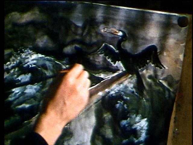 """Джейн Эйр"" (фильм 1970 г.) Джейн рисует"