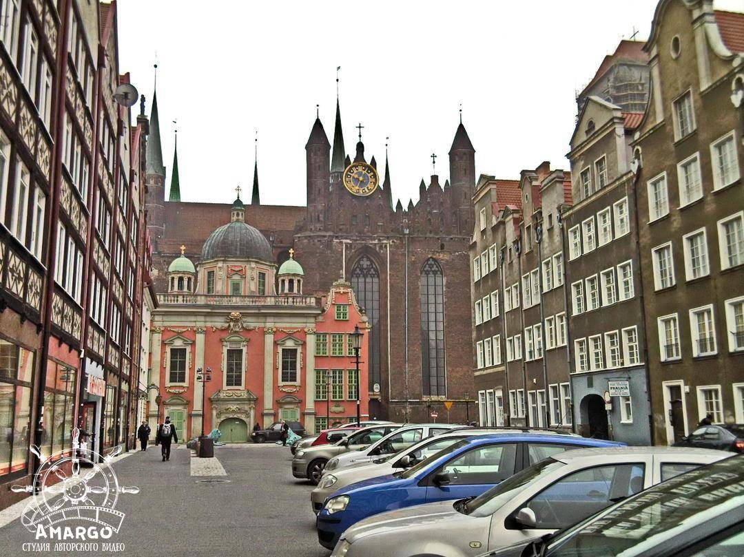 Польша. Гданьск / Poland. Gdańsk - город камениц и гаргулий