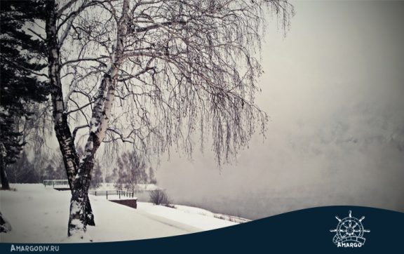 Дивногорск. Туман над Енисеем